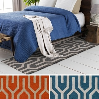 Artistic Weavers Hand-Tufted Abymes Wool Rug (2' x 8')