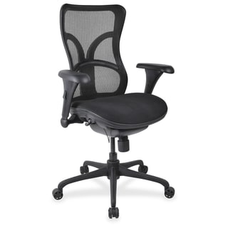 Lorell High-back Fabric Seat Chairs - (1/Each)