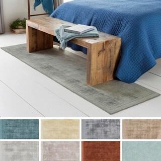 Artistic Weavers Handloomed Kesgrave Viscose Rug (2'3 x 8')