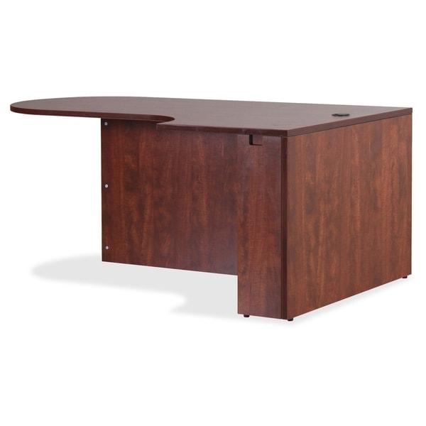 Lorell Essentials Series Cherry Laminate Office Desking - (1/Each)