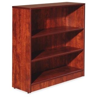 Lorell Essentials Series 3-shelf Cherry Bookcase