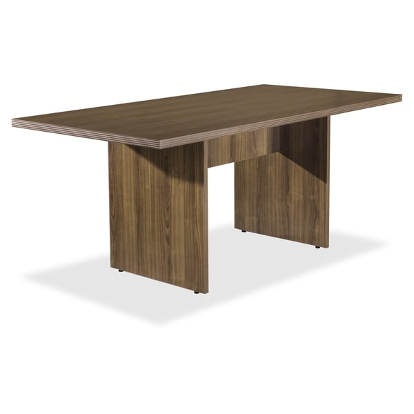 Lorell Chateau Series Walnut 6' Rectangular Table - (1/Each)