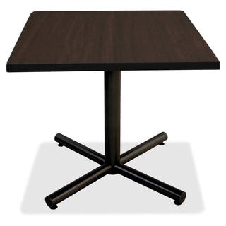Lorell Invent 42-inch Espresso Square Tabletop