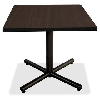 Lorell Invent 36-inch Espresso Square Tabletop
