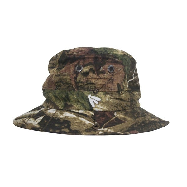 Adult Forest Camo Boonie Mosquito Net Hat Bughat (Small/ Medium)