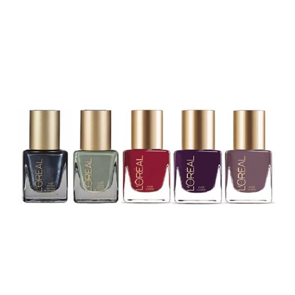L'Oreal Paris Colour Riche 5-piece Nail Polish Collection