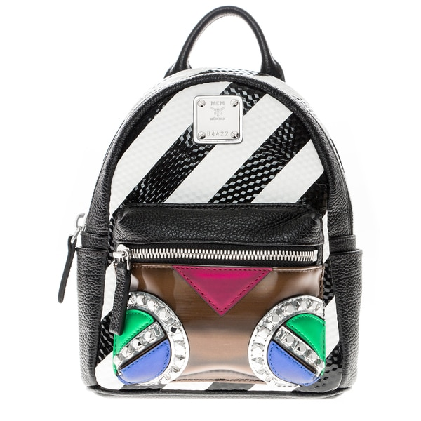 MCM Roboter X Mini Mixed-Media Backpack