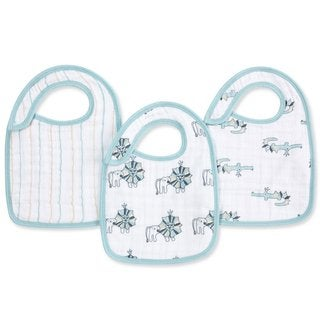 Aden and Anais Royal Snap Bib