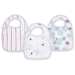 Aden and Anais Adore-able Classic Snap Bibs