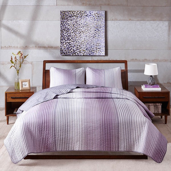 Madison Park Oakley 3-piece Coverlet Set
