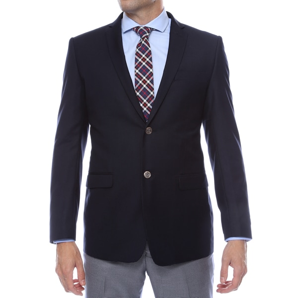 Ferrecci Men's Navy Finn Slim Fit Blazer Jacket