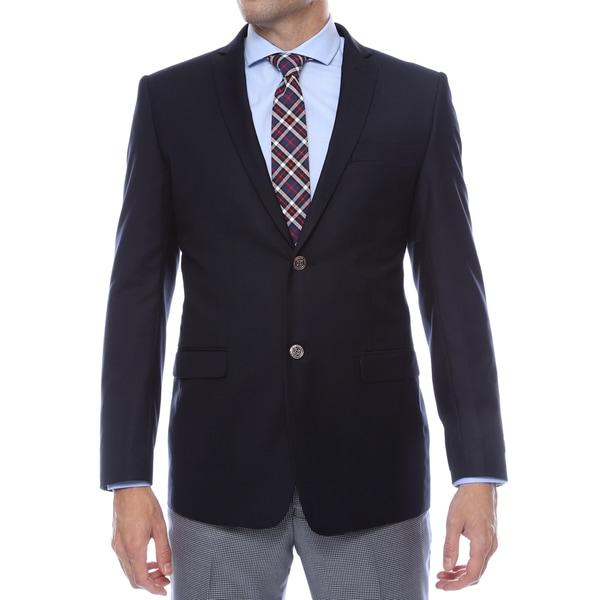 Ferrecci Men's Navy Finn Slim Fit Blazer Jacket