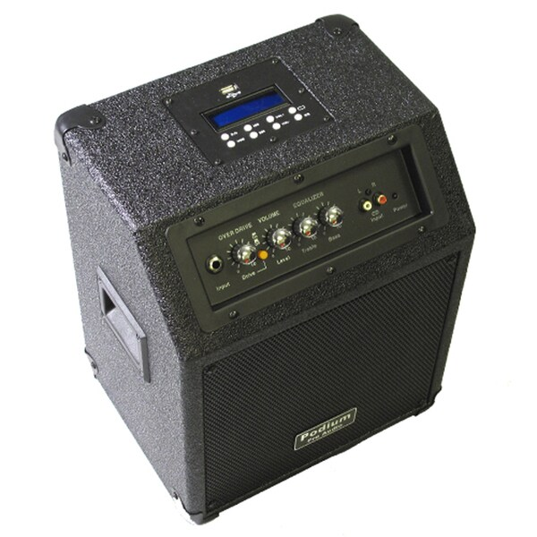 Podium Pro HA8 Powered MP3 Built in Guitar Amp Speaker
