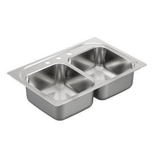 Moen Drop-in Stainless Steel Kitchen Sink G202133