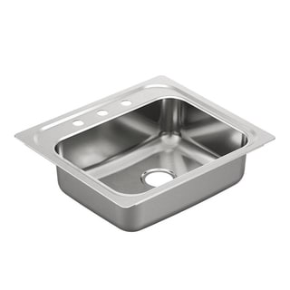Moen Drop-in Stainless Steel Kitchen Sink G201963