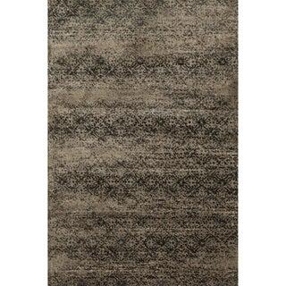 Kingsley Taupe/ Slate Rug (2'3 x 3'9)