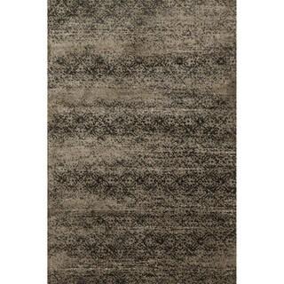 Kingsley Taupe/ Slate Rug (3'9 x 5'6)