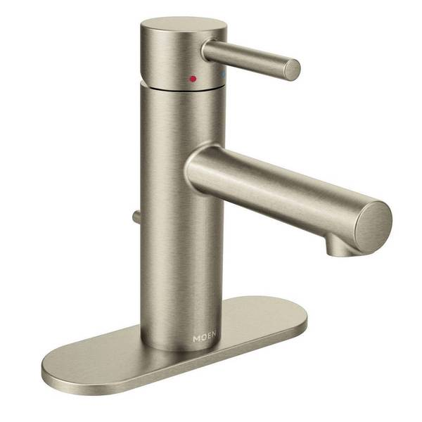 Moen Align Single Hole Bathroom Faucet 6190hcbn Brushed Nickel Finish 18115278
