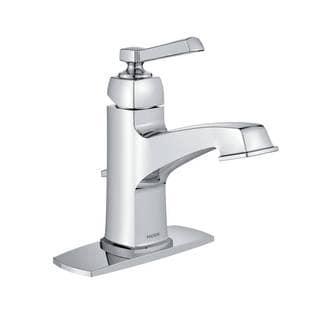 Moen Boardwalk Chrome Finish One-Handle High Arc Bathroom Faucet