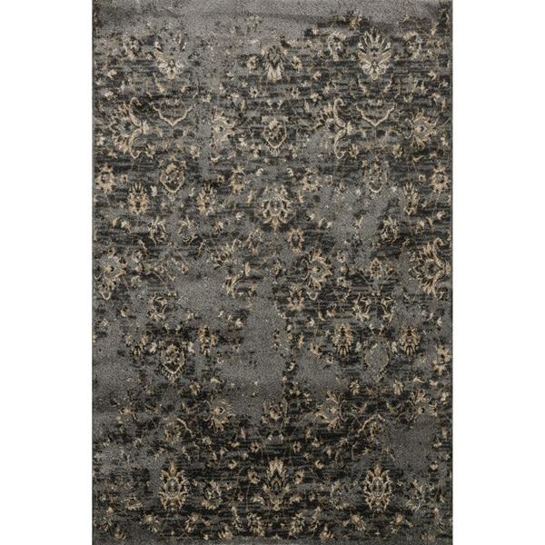 Kingsley Pewter/ Beige Rug (2'3 x 3'9) 17151379
