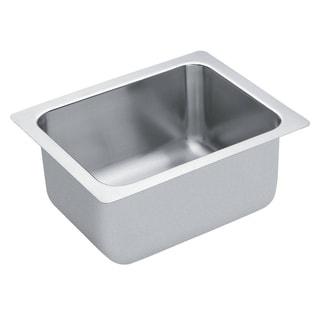 Moen Commercial Drop-in Steel Kitchen Sink 22124 Satin Finish