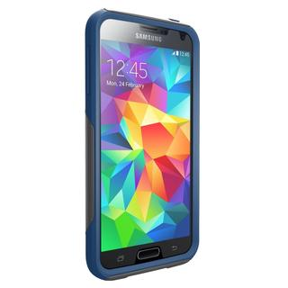 OtterBox 77-40119 Commuter Wallet Series for Galaxy S5 - Blue/Gray (Refurbished)