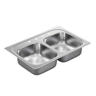 Moen Drop-in Steel Kitchen Sink G222154