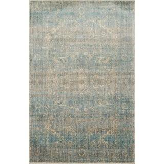Contessa Light Blue/ Mist Rug (3'7 x 5'7)