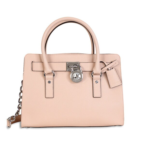 Michael Kors Hamilton Ballet Saffiano Leather E/W Satchel