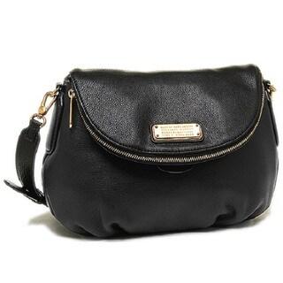 MARC by Marc Jacobs Black New Q Natasha Crossbody Bag