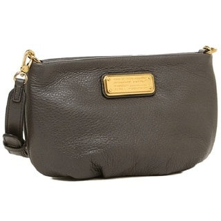 Marc by Marc Jacobs Faded Aluminum Leather New Q Percy Cross Body Handbag