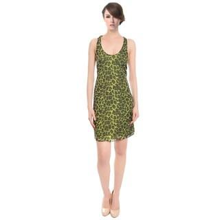 Alice and Olivia Leopard Print Silk Halter Cocktail Dress (Size M)