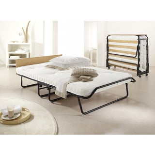 Jay-Be Contour Oversized Folding Bed with Pocket Spring Mattress and Headboard