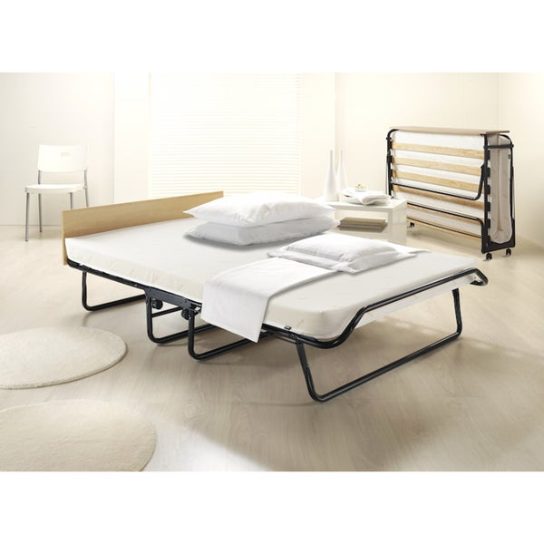 Jay-Be Contour Oversized Folding Bed with Airflow Mattress and Headboard