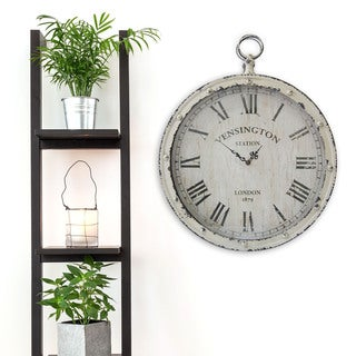 Stratton Home Decor Pocket Watch Wall Clock