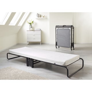Jay-Be Smart Folding Bed with Airflow Mattress - White
