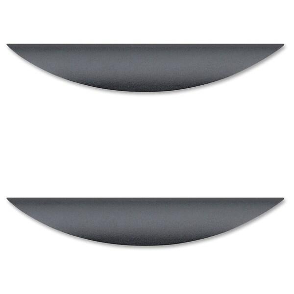 Lorell Laminate Drawer Transitional Pulls - (2/Pack)