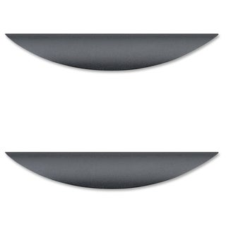 Lorell Laminate Drawer Transitional Pulls - (2/Pack)