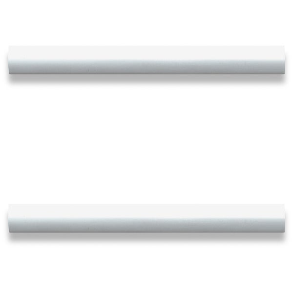 Lorell Laminate Drawer Modern Pulls - (2/Pack)