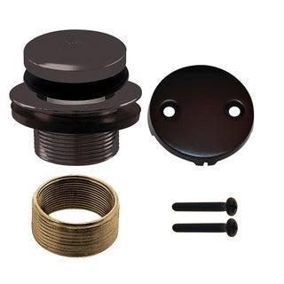 Westbrass Oil Rubbed Bronze D93K-12 Tip Toe Universal Trim Set 2-Hole
