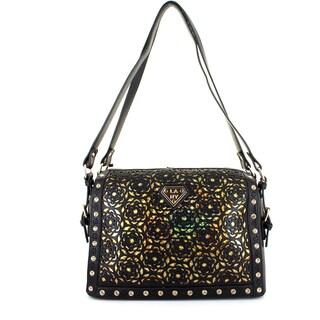 Lany 'Flower Illusion' Tote Handbag