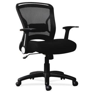 Lorell Flipper Arm Mid-back Chair - (1/Each)