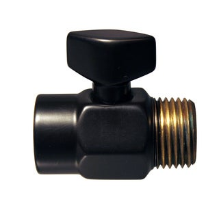 Westbrass Oil Rubbed Bronze D309-12 Shower Arm Volume Control