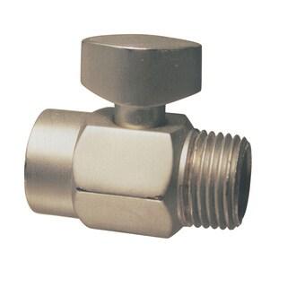 Westbrass Satin Nickel D309-07 Shower Arm Volume Control