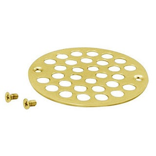 Westbrass PVD Polished Brass D3192-01 Plastic Oddities Shower Strainer