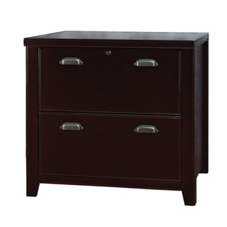 Tansley Landing Cherry 2-drawer Lateral File Cabinet