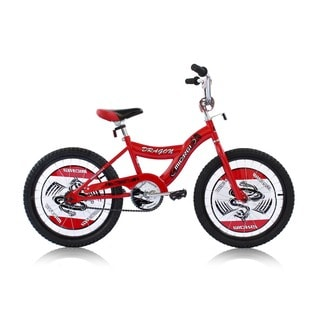 Boys Red 20-inch BMX Bicycle Dragon