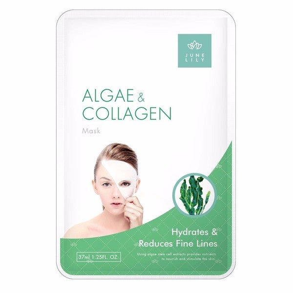 June Lily 10-piece Algae and Collagen Firming Moisturizing Facial Mask