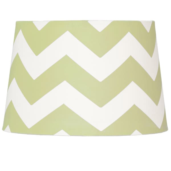 Lolli Living Green Zig Zag Lampshade