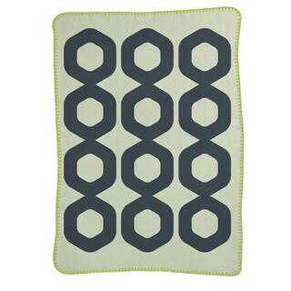 Lolli Living Mod Ring Brushed Cotton Blanket